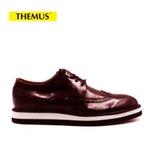 men-leather-shoes-THEMUS Oxford Flats Men's Shoes Retro Series 16033 on JD