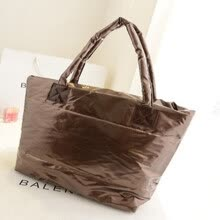 875062576-Korean Style Shoulder Bags Cotton Feather Women Handbags on JD