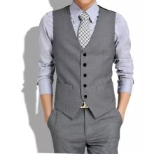 vests-2018 Arrive Gilets Hot Suit Vest Men Spring Fashion Slim Fitness Men's Waistcoat Blazer Vests Tops Clothing Gentleman Suit Vest on JD