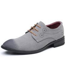 men-oxfords-JUQI Business Men Oxford Lace up Leather Shoes on JD