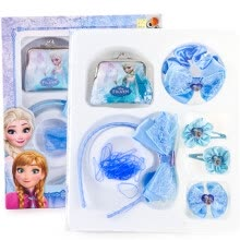 -Disney Disney Children's Hairpin Girl Necklace Set Princess Card Hairpin Little Girl Hairband Head Jewelry 1S007 Sophia Pink on JD