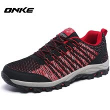 -Onke New Design Men Hiking Shoes Breathable Sport Shoes Outdoor Lightweight Walking Shoes Good Quality Trekking Shoe 1555 on JD