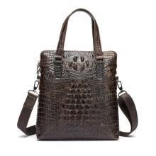 84e0b59ff261 p.koune ® моды крокодил рельефные мужчины сумку натуральной кожи дипломат  высокого качества бизнес - пакет мужчин кошельки сумку