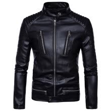leather-faux-leather-Leather Jacket Men's Jacket 5XL Brand High Quality PU Jacket Men's Business Men's Motorcycle Jacket on JD