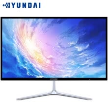desktops-Hyundai HYUNDAI W2416 AIO machine computer 23.8 inch desktop machine business office learning home entertainment [white Core i3 4G 120G solid state] on JD