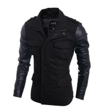 -Zogaa New Men's Wind Coat Fashion Slim Fashion on JD
