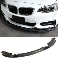 car-body-parts-3-D Style Carbon fiber Front Lip Fit For BMW 2-Series 218i 220i F22 M-Sport on JD