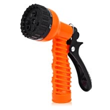 -Wegarden Multifunctional 7-pattern Plastic Watering Nozzle Car Washing Garden Water Gun Spray on JD
