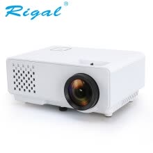 -Rigal HD RD810 1000 миниатюрных мини-проекторов Mini LED Video Beamer RD-810 videojuego casa 3D Movie HDMI VGA proyector USB on JD