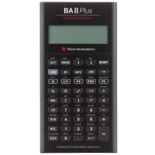 875065887-Texas Instruments TI BAII plus professional financial calculator on JD