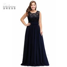 plus-size-dresses-2 styles Royal Blue 2018 Mother Of The Bride Dresses Plus size A-line Chiffon Lace Long Elegant Groom Mother Dresses Wedding on JD
