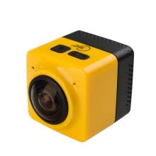 875072536-Cube 360 WiFi 360 Degree Wide Angle Action Camera Sports Cam Recorder with Standard 1/4 Screw Interface on JD