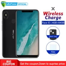 -Ulefone X 3300mAh Smartphone Face/Touch ID 4+64GB 16.0MP Camera Qi Wireless Charge Mobile Phone 5.85''19:9 FHD+ Screen Cellphone on JD