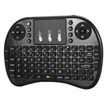 -iPazzPort KP - 810 - 21F Multifunction Portable 2.4GHz Wireless QWERTY Keyboard with Touchpad Mouse on JD