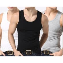875061886-Mens T-Shirts Weste Undershirt Spaghetti Strap Tank Tops Slim Man Muscle Vest on JD