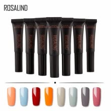 -ROSALIND Gel 1S dawdler gel New Arrival Nail Polish Solid Color Soak Off UV Lamp Nail Gel Polish 8ml 8001-8030 Semi Permanent gel on JD