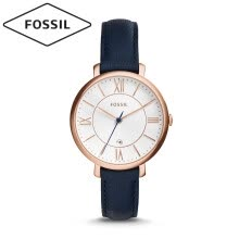 -Fossil watches Europe and America fashion simple quartz women's watch new ladies trend fashion watch temperament ultra-thin small dial new year red brown belt women's watch ES4412 on JD