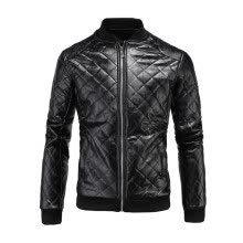 leather-faux-leather-Leather Jacket Men's Jacket 3XL Brand High Quality PU Jacket Men's Business Men's Jacket Motorcycle Jacket on JD