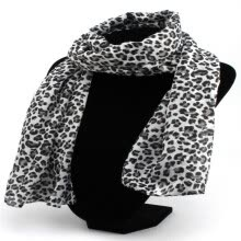 875062778-MyMei Hot Sexy Fashion Ladies Leopard Print Chiffon Long Scarves Shawl Wrap 261159-261160 on JD