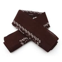 875062531-Women Classical Printing Pattern Large Scarves Cotton Square Scarf Shawl Wraps  COFFEE on JD