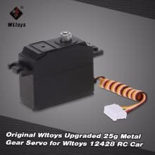 rc-cars-Original Wltoys Upgraded 25g Metal Gear Servo for Wltoys 12428 RC Car on JD