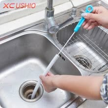 other-kitchen-supplies-Cntomlv hot sale 70cm Kitchen Sewer Cleaning Brush Bendable Bathroom Sink Tub Toilet Dredge Pipeline Cleaning Tools Brush Cleaner on JD