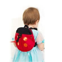 school-bags-Baby Children Toddler Safety Harness Rein Anti Lost Backpack Walker Strap on JD