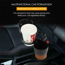-Car-styling MultiFunction Car Organizer Auto Sunglasses Drink Cup Holder Car Phone Holder for Coins Keys Phone Stand Storage Box on JD