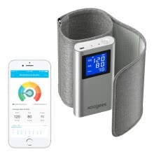 875072528-Koogeek FDA Approved Smart Upper Arm Blood Pressure Monitor with Heart Rate Detection and Koogeek App for iOS and Android Devices on JD