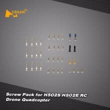quadcopters-Original Hubsan Spare Parts Screw Pack Kit for H502S H502E RC Drone Quadcopter on JD