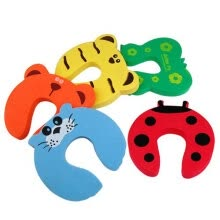 -5pcs Kids Baby Cartoon Animal Jammers Stop Edge & Corner Guards Door Stopper Holder lock Safety Finger Protect on JD
