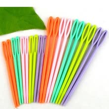 knitting-crochet-1Set (20PCs) 2 3/4 ' , 3 3/4 ' Multicolor Plastic Sewing Needles on JD