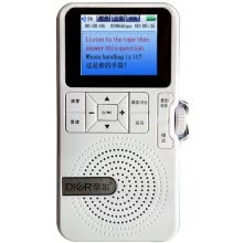 -Derek (DIER) DR29 red 4G memory / video repeat / touch screen / electronic lexicon search word / word translation / massive learning materials download / tape CD player to MP3 on JD