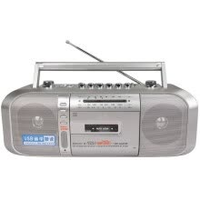 875072520-Cheap brand tape recorders / recorder / teaching machine/ tape / cassette machine / bass Built-in Speaker Can U disk MP3 Radio on JD