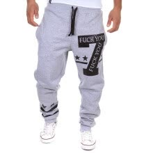 875068681-Zogaa Men's Pant Sports English Printing Casual on JD
