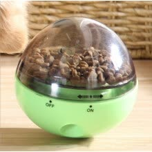pet-feeding-New Pattern Puppy Tumbler Leakage of Food Ball Toys The Cat and Dog Interaction Puzzle No Egg Card Feeder on JD