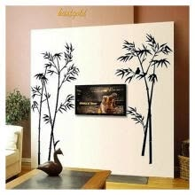-Delicate Home Decals Bamboo Bird Home Decorative Murals PVC Removable Wall Sticker Living Room Bedroom Decor on JD