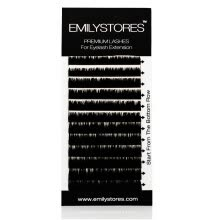 fake-eyelashes-EMILYSTORES Eyelash Extensions Individual Loose Signature Mink Eyelash C Curl Thickness 0.07mm Length 8mm 9mm 10mm 12mm 14mm Sil on JD