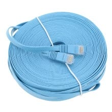 -Durable 0.5m ~30m Cat6 Ethernet Flat Cable RJ45 Computer LAN Internet Network Cord NF12 on JD