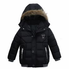 -Baby Boys Jacket 2018 Autumn Winter Jacket For Boys Children Jacket Kids Hooded Warm Outerwear Coat For Boy Clothes 2 3 4 5 Year on JD