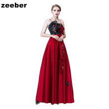 -plus size red bridesmaid mother of the bride dresses formal party evening dresses long lace gown for wedding party on JD