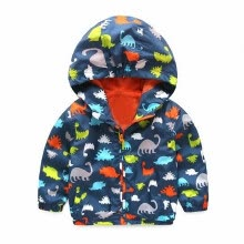 -0-120cm Cute Dinosaur  Children Coat   Kids Jacket Boys Outerwear Coats Active Boy Windbreaker Baby Clothes Clothing on JD