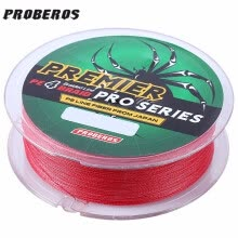 fishing-hunting-PROBEROS 100M Mixed Color PE Monofilament Fishing Line Strong 4 Strands Braided Wire  PE material  High tensile strength on JD