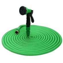 8750510-Expandable Garden Magic Hose Water Pipe with 8 in 1 Spray Gun Brass Accessories TPE tube Scope of application Tightly knitted oute on JD