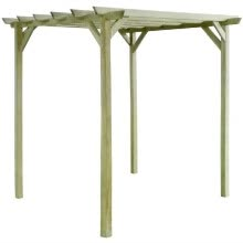 other-furniture-Garden Pergola 2x2x2 m Impregnated Pinewood on JD