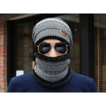 -New Fashion Hats Men Winter Wool Ski Hat scarf Set Head hooded Cap Earmuffs Head Caps Male beanie mask balaclava gorro masculino on JD