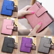 -Lovely Women Short Wallet Coin Money Organizer Pocket Small Credit Card Purse on JD