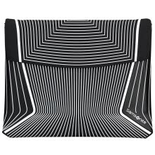-Samsonite Tablet PC bag ipad air protective cover Apple flat liner bag 9.7 inches BP6 * 09001 black stripes on JD