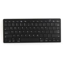 keyboards-MyMei Wireless Bluetooth Black Keyboard Slim for Apple System iPad Laptop PC on JD
