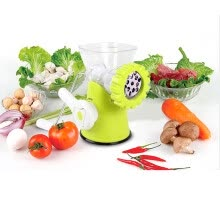 kitchen-utensils-Mini Colorful Manual Meat Grinder Household Meat Cutter on JD